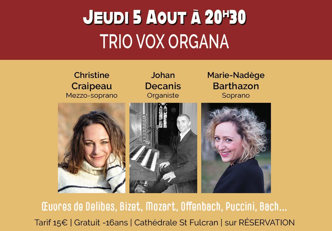 Trio Vox Organa